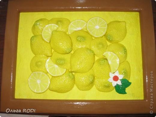 Люблю лимончики. Подглядела где-то в просторах интернета. фото 3