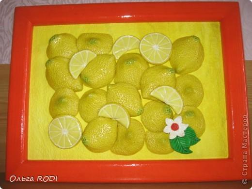 Люблю лимончики. Подглядела где-то в просторах интернета. фото 1