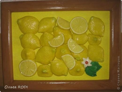 Люблю лимончики. Подглядела где-то в просторах интернета. фото 2
