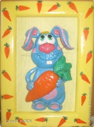 Картины для детской комнаты. Этого ёжика подглядела у Светлячка и К. Ну очень вдохновляют её работы, хочется перелепить всё!!! фото 4