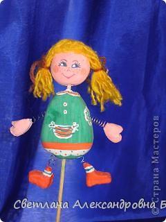 вот такую куколку я  недавно слепила