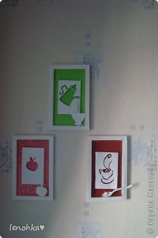 У нас на кухне уже можно открывать картинную галерею,я решила поделиться всеми своими картинами и выложить их на суд зрителей. фото 2