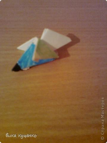 материал:  4 модуля 1/4 листа  изготовление:  фото 4