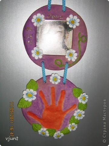 рамка+отпечаток руки фото 1