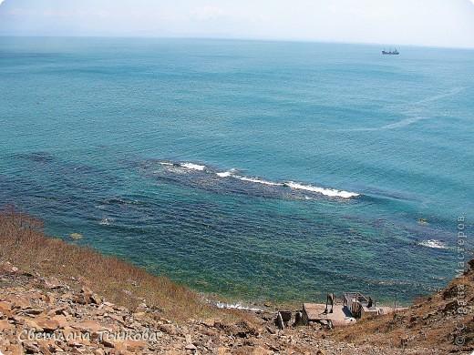Я заметила,что море каждый день разное,но в любую погоду оно красиво!Или может мне это только кажется,потому что я обожаю море! фото 2