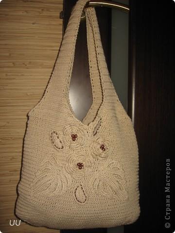 Увидев МК Голубки я просто влюбилась в вязанные сумки. фото 1