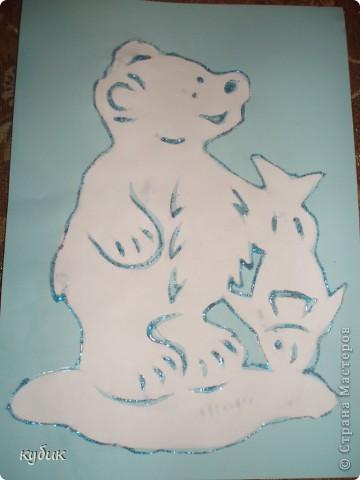 вот такие вырезаночки сделал Артуша для подарков:)))Украсил блеском.Шаблончики брали в интернете, за что огромное огромное спасибо!!!!!!!!!!!!!!!! фото 1