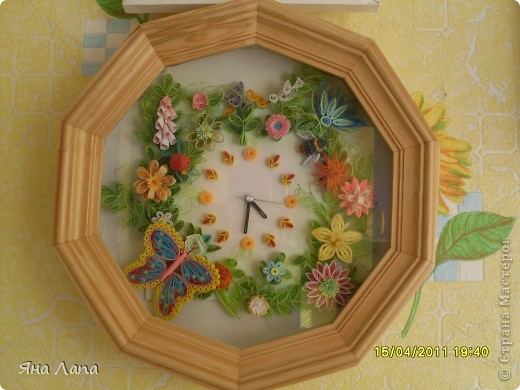 Часики висят на кухне. фото 1