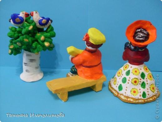 Почти дымковская игрушка фото 2