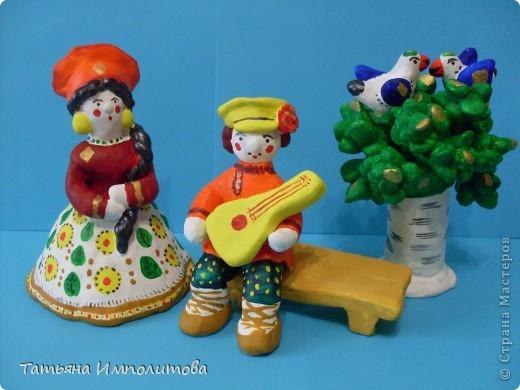 Почти дымковская игрушка фото 1