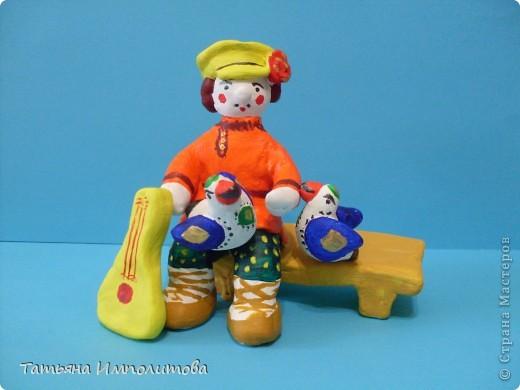Почти дымковская игрушка фото 5