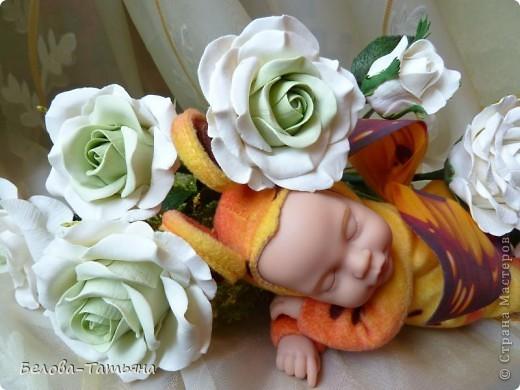 Наконецто и я слепила мои первые розы из х.ф. фото 4