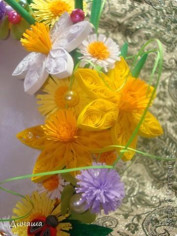 """Рамка """"Весенние цветы"""" фото 4"""