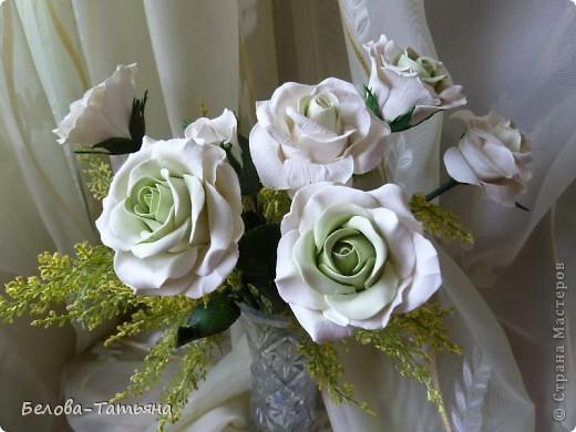 Наконецто и я слепила мои первые розы из х.ф. фото 3