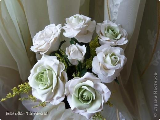 Наконецто и я слепила мои первые розы из х.ф. фото 2