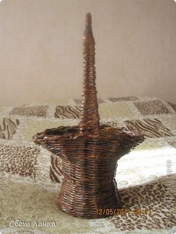 Корзинка (кашпо) для цветов. фото 6