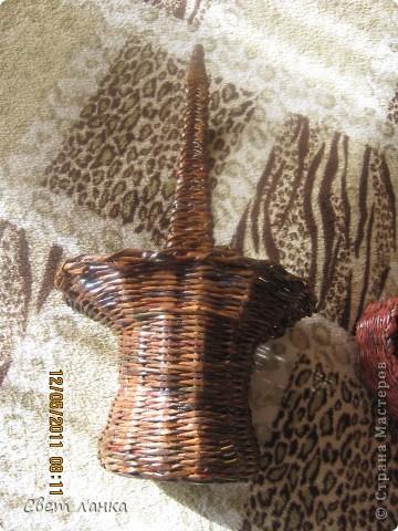 Корзинка (кашпо) для цветов. фото 3