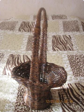 Корзинка (кашпо) для цветов. фото 5
