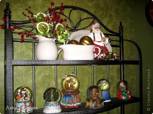 """Хочу рассказать о том, как оформляют дома на Рождество в Америке... Мне уже пора открывать серию """"Как это в США..."""" :)) Это украшен кухонный стол. фото 18"""