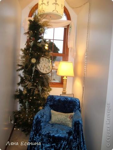 """Хочу рассказать о том, как оформляют дома на Рождество в Америке... Мне уже пора открывать серию """"Как это в США..."""" :)) Это украшен кухонный стол. фото 15"""