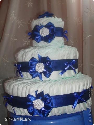 Вот выставляю обещанный тортик для богатыря Илюши. Памперсы в этом тортике выложила по-другому! За эту идею огромное спасибо Викторие Борзовой http://stranamasterov.ru/node/190055?c=favorite фото 8