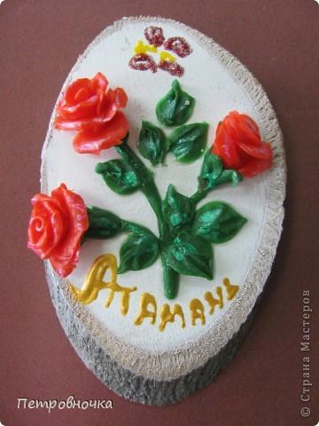 У нас на Кубани есть Атамань, энтографическая станица. Для неё мы каждый год делаем сувениры. Которые там дарят или продают, за чисто символическую цену.  фото 3