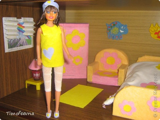 """Здравствуйте, дорогие гости! <a href=""""http://stranamasterov.ru/node/186024"""">Наша Барби</a>  сняла в аренду комнату. И сейчас я вам её покажу. фото 2"""
