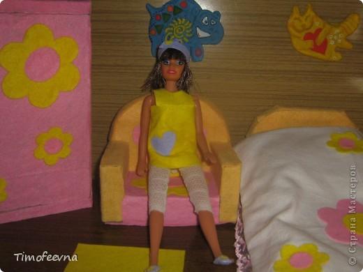 """Здравствуйте, дорогие гости! <a href=""""http://stranamasterov.ru/node/186024"""">Наша Барби</a>  сняла в аренду комнату. И сейчас я вам её покажу. фото 5"""