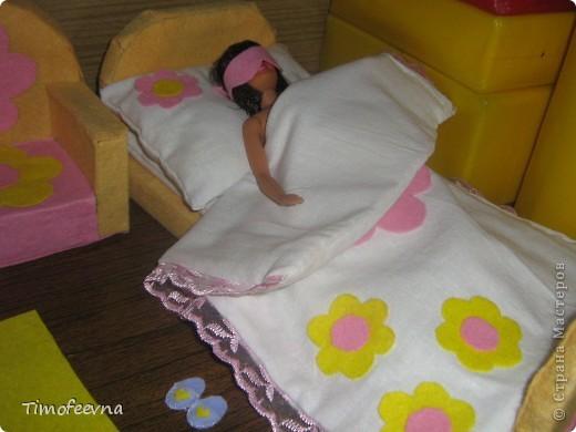 """Здравствуйте, дорогие гости! <a href=""""http://stranamasterov.ru/node/186024"""">Наша Барби</a> сняла в аренду комнату. И сейчас я вам её покажу. фото 13"""