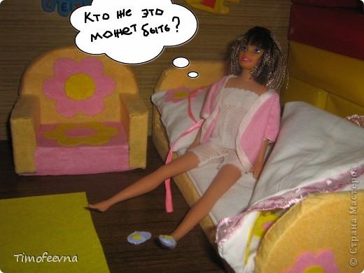 """Здравствуйте, дорогие гости! <a href=""""http://stranamasterov.ru/node/186024"""">Наша Барби</a>  сняла в аренду комнату. И сейчас я вам её покажу. фото 15"""