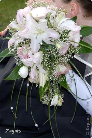 Все началось с этого букета, который я сделала в подарок для невесты своего хорошего друга... фото 2