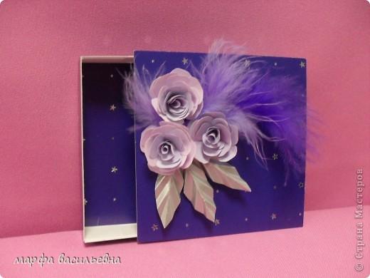 На работу меня вдохновила Енюша,У нее замечательные коробочки.Вот сделала на скорую руку.Тем более попросила знакомая для своей племянницы на день рождения. фото 5