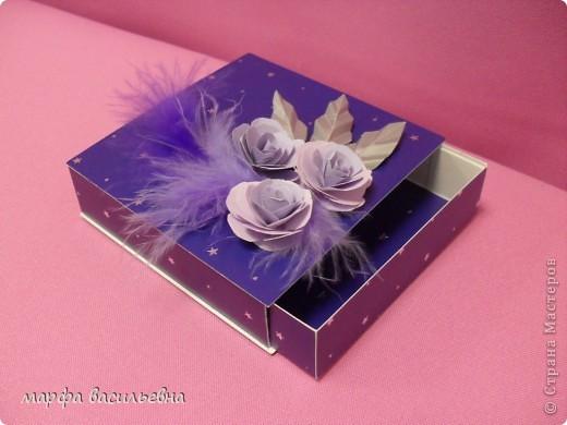 На работу меня вдохновила Енюша,У нее замечательные коробочки.Вот сделала на скорую руку.Тем более попросила знакомая для своей племянницы на день рождения. фото 6