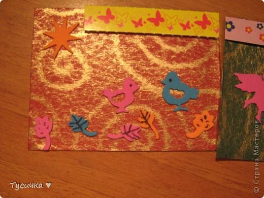 Вот и я заразилась крохотными открыточками)) фото 10