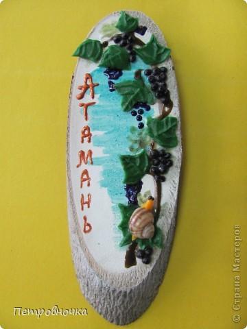 У нас на Кубани есть Атамань, энтографическая станица. Для неё мы каждый год делаем сувениры. Которые там дарят или продают, за чисто символическую цену.  фото 9