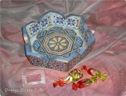"""Конфетница """"Восточные сладости"""" фото 1"""