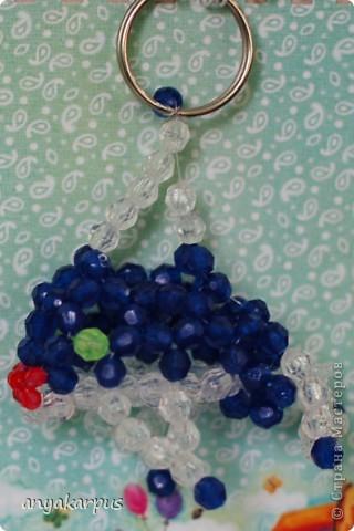 Эти брелоки были сделаны дочкой для выставки детских поделок, организованной у меня на работе. Это черепаха: фото 2