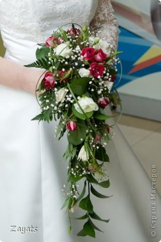 Все началось с этого букета, который я сделала в подарок для невесты своего хорошего друга... фото 3