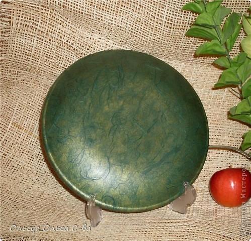 """тарелка """"Райское яблоко"""" фото 2"""