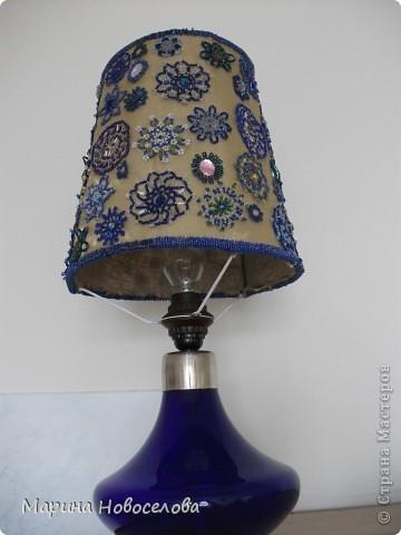 Лампа и бутылка фото 2