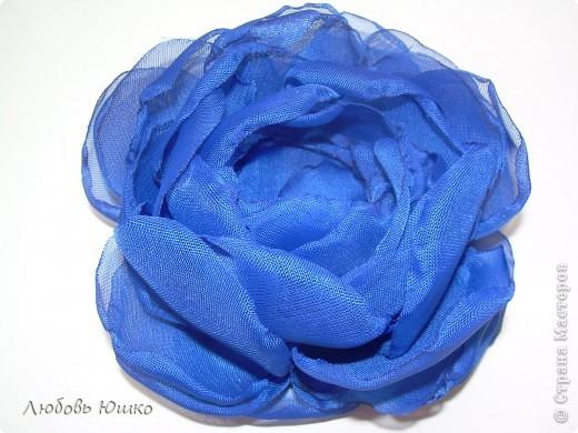 цветы из ткани фото 20