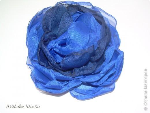 цветы из ткани фото 21