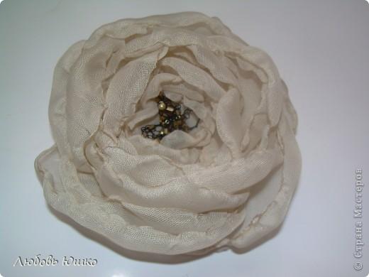 цветы из ткани фото 24