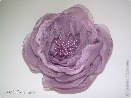 цветы из ткани фото 23