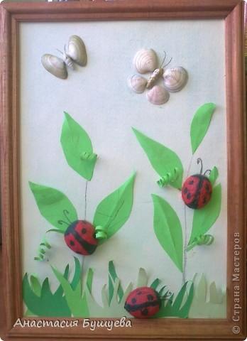 А это в садик попросили сделать поделку из природного материала) Игорёша тоже в 4 годика делал)