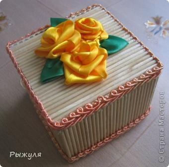 Вот такую шкатулочку благодаря  Нате Лапушке    http://stranamasterov.ru/node/183753 я сделала. фото 4