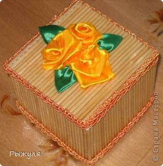 Вот такую шкатулочку благодаря  Нате Лапушке    http://stranamasterov.ru/node/183753 я сделала. фото 1