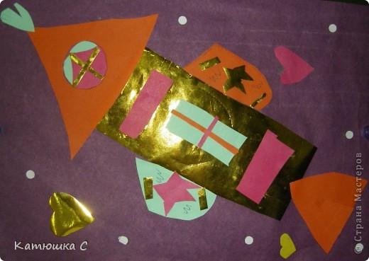 Оригами. Космический корабль фото 2