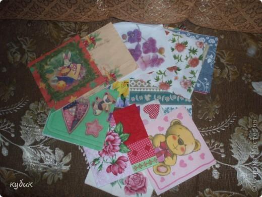 Девочки мне снова пришел подарок от Рябухиной Ирины.Огромное количество очень красивых салфеток.Столько радости и восторга.Ирина, огромное огромное спасибо!!!!!!!!!!!!!!!!!! фото 2