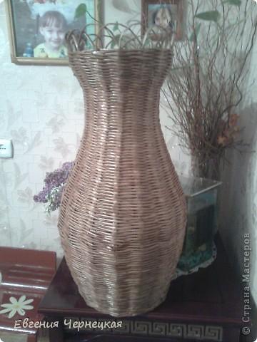Моя вторая большая ваза!!! фото 1